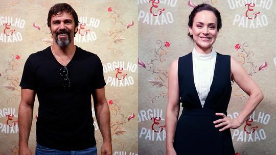 Marcelo Faria e Gabriela Duarte comemoram 29 anos de amizade e parceria