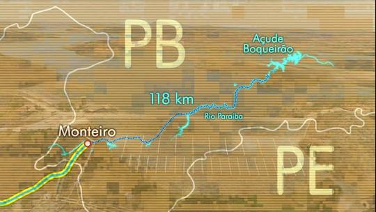 Transposição do rio São Francisco muda a vida no sertão da Paraíba