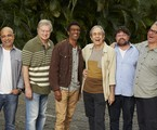 Cláudio Manoel, Beto Silva, Hélio de La Peña, Reinaldo Figueiredo, Marcelo Madureira e Hubert | Guto Costa/Divulgação Multishow