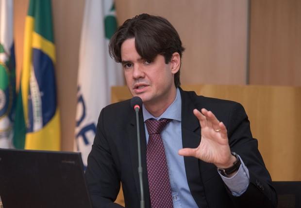 Bruno Aranha, gerente da área de gestão de participações do BNDES (Foto: Divulgação BNDES / André Telles)