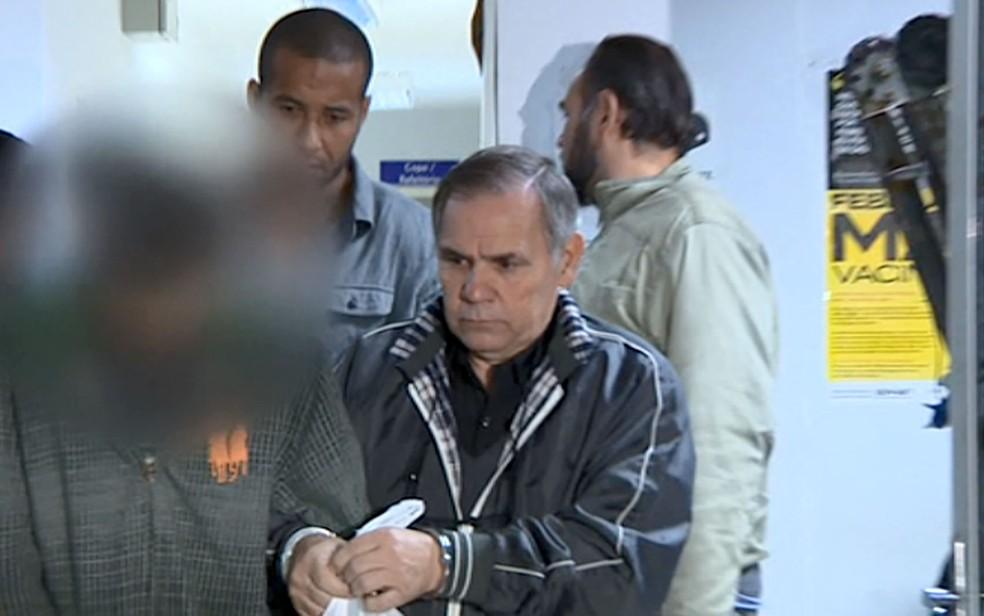 Leo Luiz Ribeiro, de 60 anos, foi preso em Atibaia (SP) e confessou ter atropelado moradores na ocupação do MST durante protesto. — Foto: Reprodução/EPTV