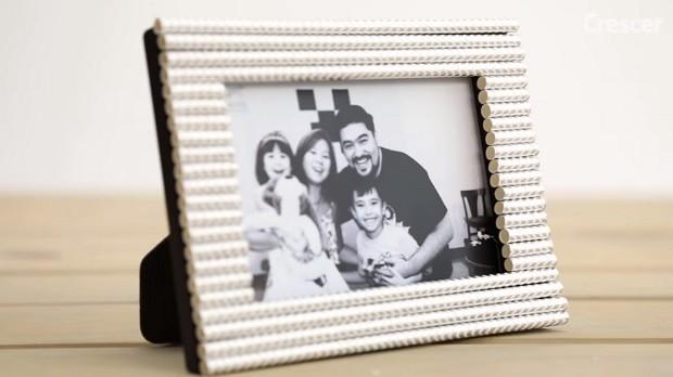 Porta-retrato para o Dia dos Pais (Foto: Tamy Rente e Amanda Filippi)