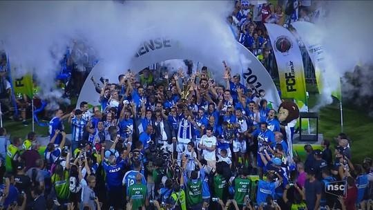 """Com provocação ao rival, Marquinhos Silva comemora título: """"Só eu sei o sentimento"""""""