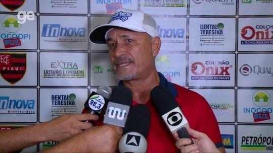 """Paulo Júnior enaltece estreia do Fla-PI e destaca preparo físico: """"Levamos vantagem"""""""