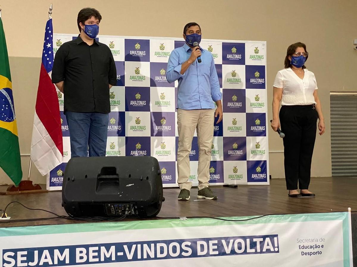 Governo anuncia retorno das aulas presenciais na rede pública estadual para a partir de 10 de agosto, em Manaus – G1