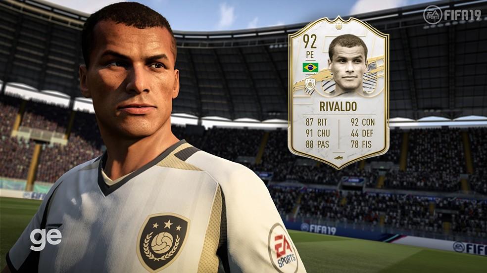 Rivaldo no FIFA 21 — Foto: Reprodução
