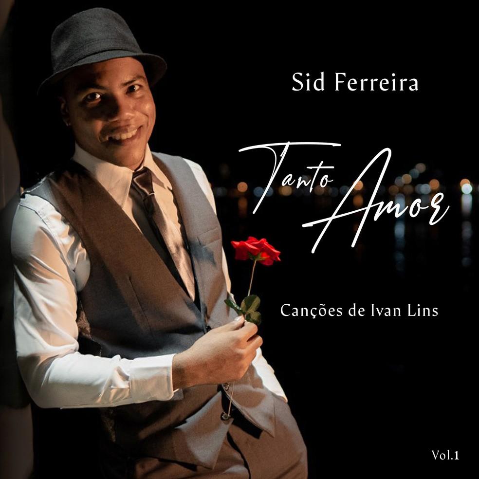 Capa do álbum 'Tanto amor – Canções de Ivan Lins vol. 1' — Foto: Divulgação