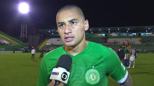 Wellington Paulista comenta o empate com o Santos