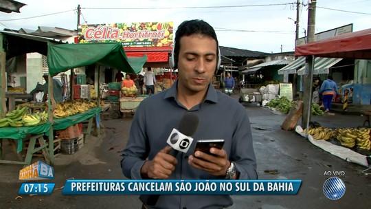Prefeitura de Santa Cruz Cabrália cancela 'Tonhão', evento que abre os festejos juninos da cidade