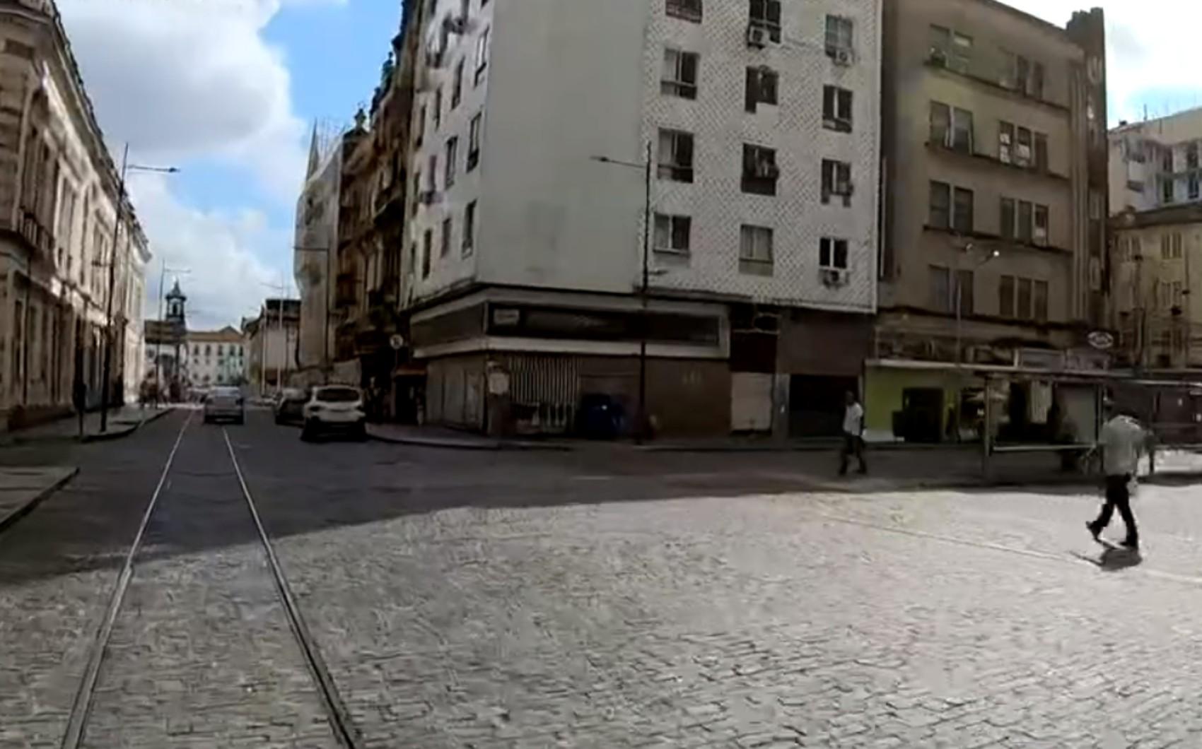 Gravação de série com Bruno Gagliasso provoca alterações em trânsito no Centro de Salvador