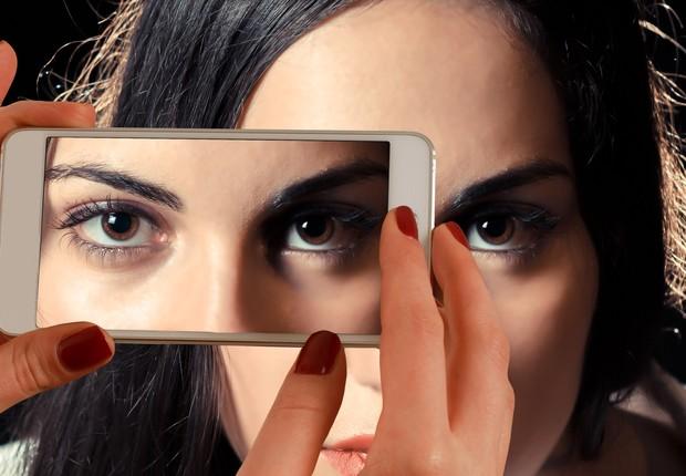 retina ; celular ; olhos ; olho ; olhar ; tecnologia (Foto: Pexels)