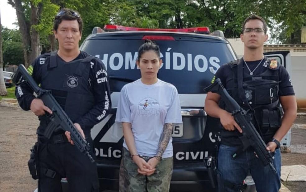 Travesti foi presa em outubro de 2018 — Foto: Divulgação/Polícia Civil