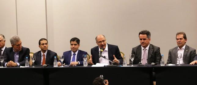 Alckmin faz aliança com centrão