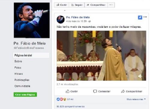 Página Padre de Melo