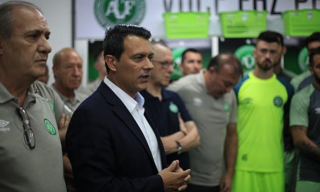 Rui Costa: diretor de futebol da Chapecoense