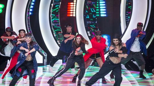 Rafa Brites dá show em coreografia de Ivete Sangalo, e Marcos Veras arrasa em James Brown
