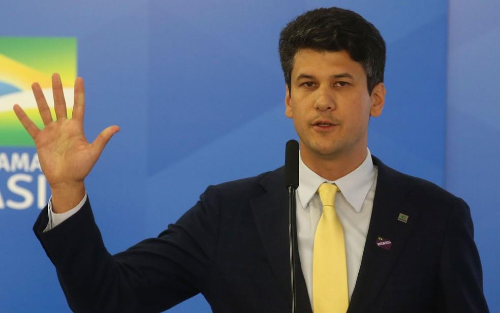 Novo presidente do BNDES, Gustavo Montezano — Foto: Antonio Cruz/Agência Brasil