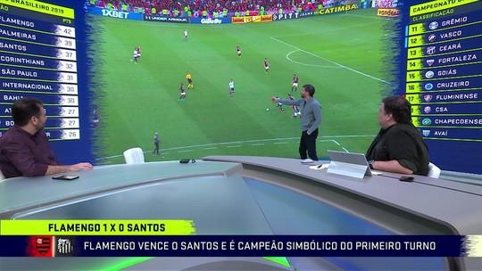 Pedrinho critica substituições de Sampaoli contra o Flamengo