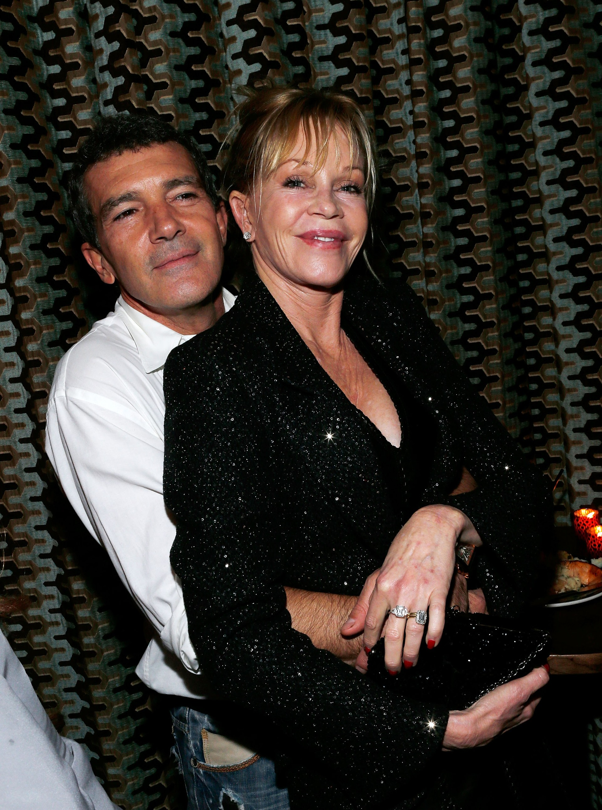 Melanie Griffith e Antonio Banderas (Foto: Getty Images)