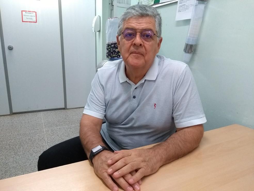 Gustavo Herdoiza médico nefrologista fala sobre cuidados (Foto: Hosana Morais/G1)