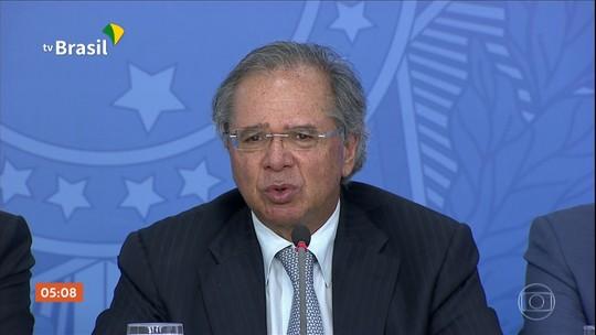 Ministro da Economia diz que contas do governo devem encerrar 2019 menos negativas