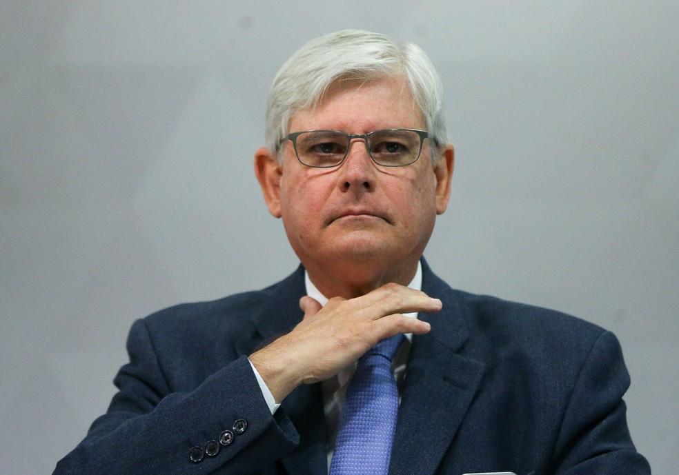 Imagem mostra o procurador-geral da República, Rodrigo Janot (Foto: Marcelo Camargo/Agência Brasil)