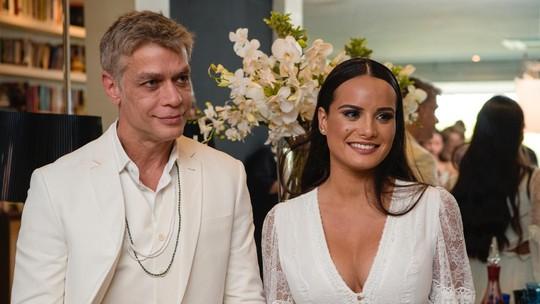 Fabio Assunção e Ana Verena passam lua de mel nas Maldivas; veja mais fotos do casamento