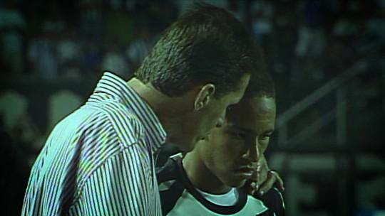 10 Anos de Neymar: como o garoto com a camisa 18 foi chamado para estrear pelo Santos