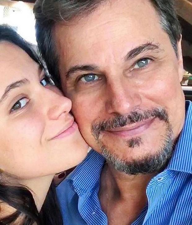 Edson e Sophia (Foto: Reprodução/Instagram)