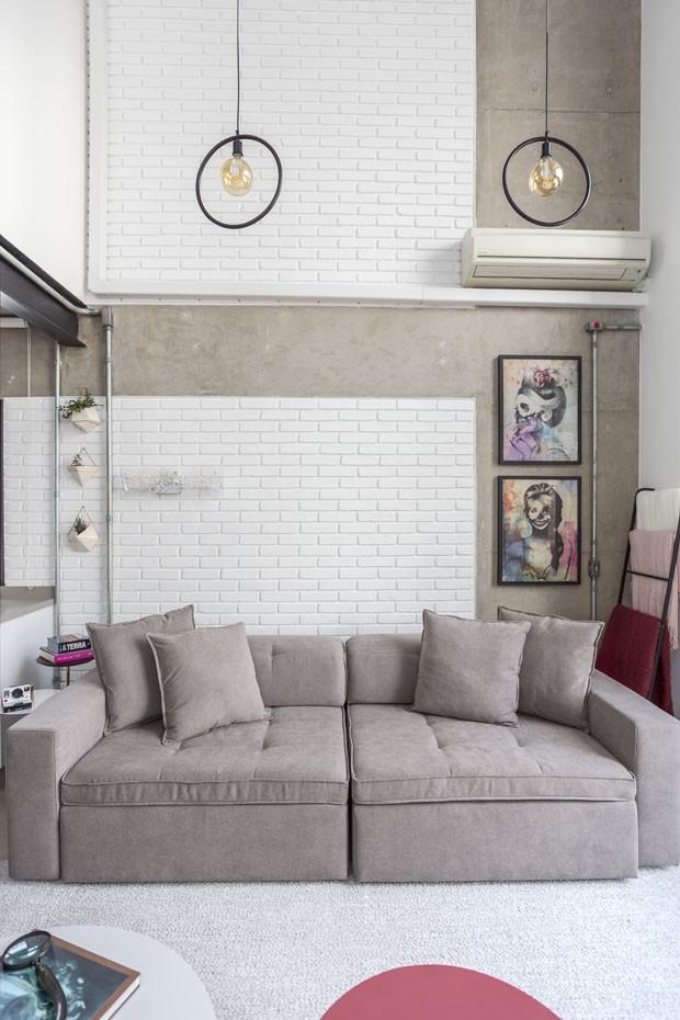 Loft mescla decoração com toque industrial e moderno (Foto: JP Image)