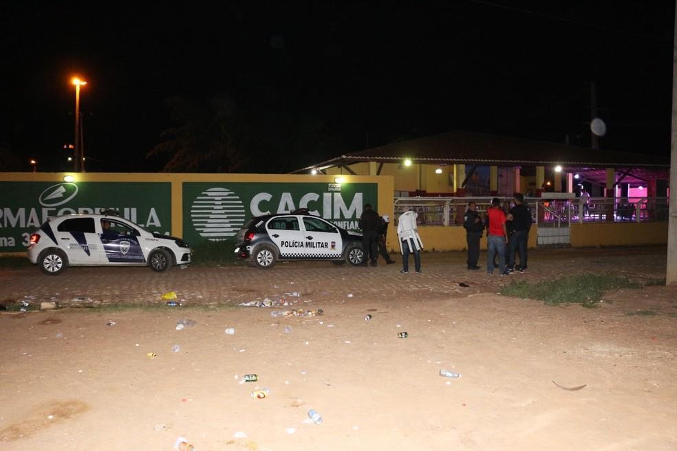 Festa terminou com mulher morta e seis pessoas feridas (Foto: Marcelino Neto/O Câmera)
