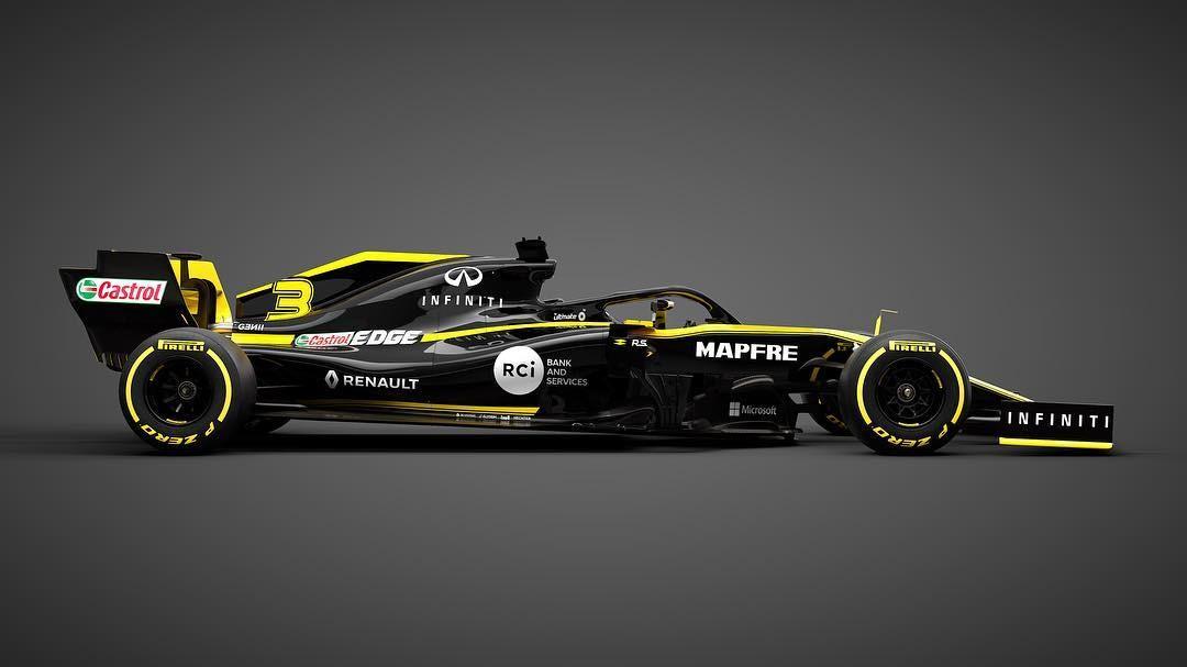Renault R.S.19 (Foto: Reprodução: Instagram)