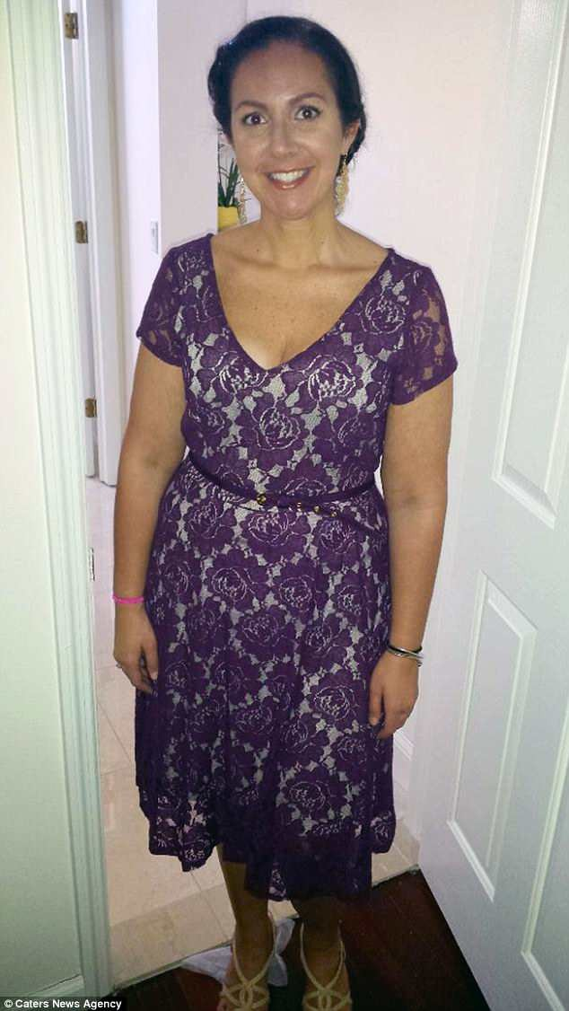 Karen sofria de uma condição rara chamada vaginismo (Foto: Reprodução / Daily Mail)