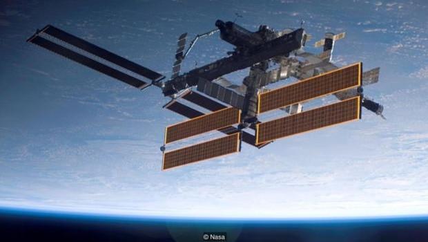 Estação Espacial Internacional (Foto: Nasa - via BBC News)