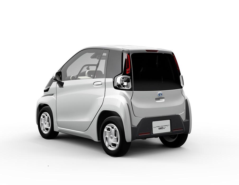Toyota Ultra-compact BEV — Foto: Divulgação