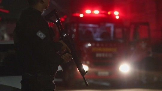 Criminosos incendeiam ônibus e posto de combustíveis no Ceará