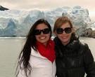 Isis Valverde e Camila Morgado num intervalo de gravações de 'O canto da Sereia' na Argentina/Foto: Luciana Monteiro/TV Globo