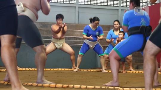 São Paulo tem o único ginásio público de sumô fora do Japão