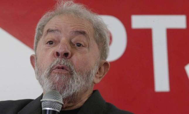 O ex-presidente Luiz Inácio Lula Silva