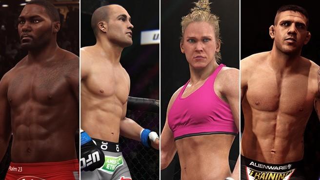 EA Sports UFC revela seus novos lutadores. (Foto: Foto: Divulgação)