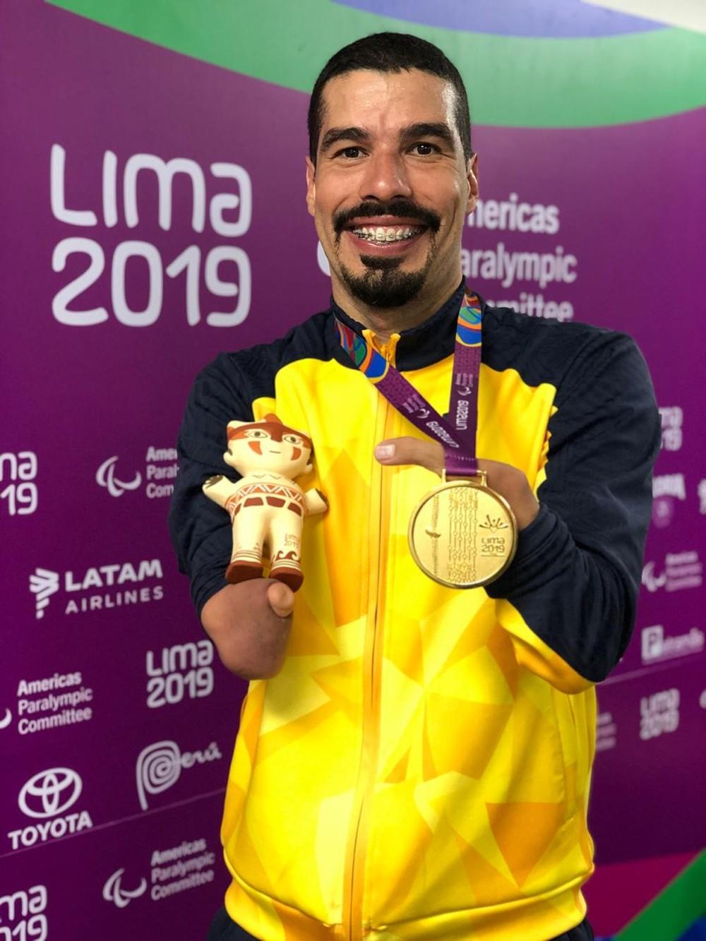A principal conquista do dia foi do nadador Daniel Dias