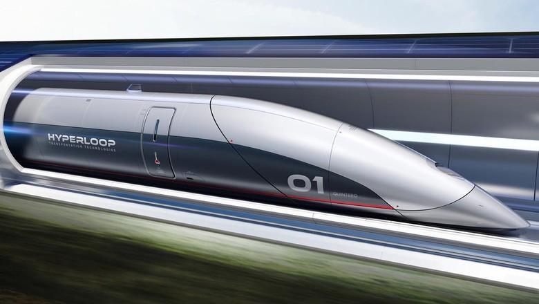 hyperloop  (Foto: Reprodução/Facebook)