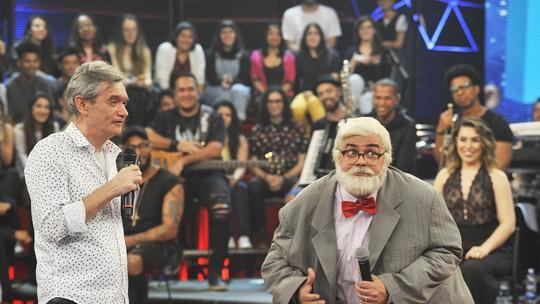 Carioca imita Lulu Santos e Jô Soares em sua primeira vez no 'Altas Horas'