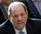Harvey Weinstein no Manhattan Criminal Court, em fevereiro de 2020   Johannes EISELE / AFP