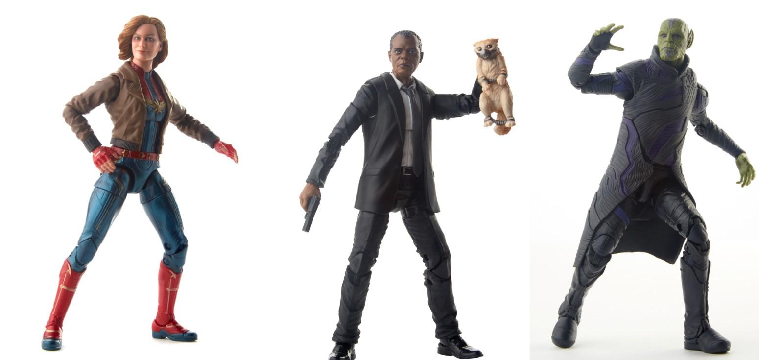 Figuras CML 6IN LEGENDS AST de Capitã Marvel (Foto: Hasbro/Divulgação)