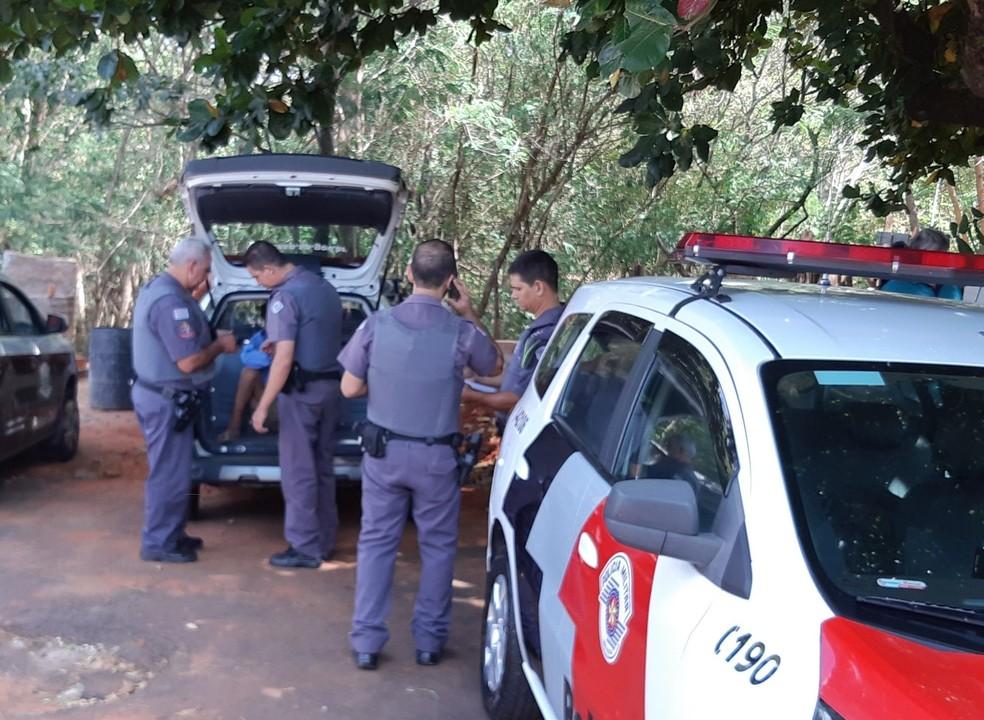 Vítima foi assassinada a golpes de picareta em Presidente Venceslau (Foto: Wagner Bueno/Portal Bueno)