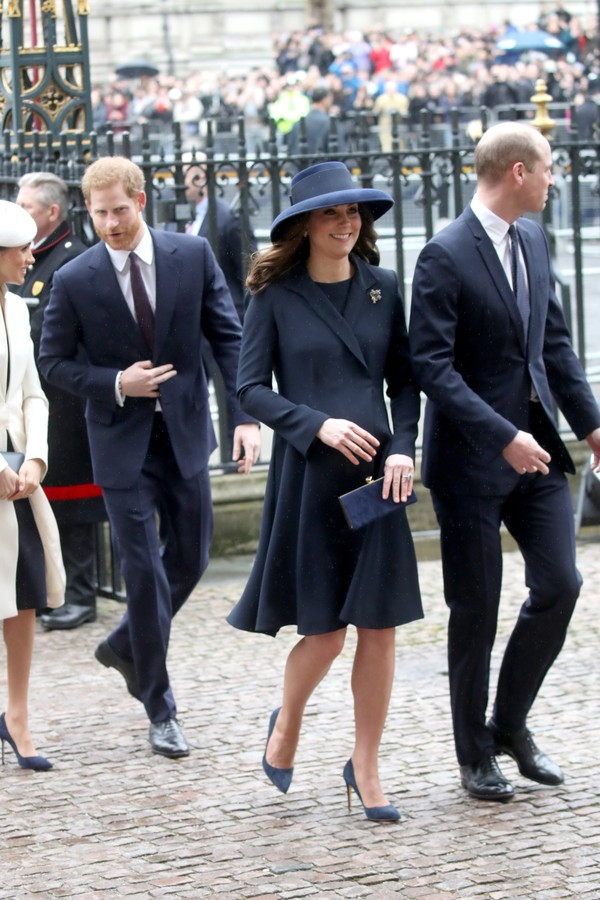 Meghan Markle, príncipe Harry, Kate Middleton e príncipe William (Foto: Getty Images)