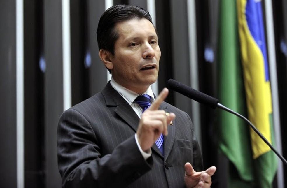 Capitão Assumção, na época em que era deputado federal (Foto: Arquivo/ Agência Câmara)