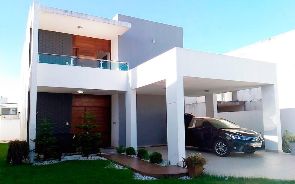 Líder de facção morava em casa de luxo em Maceió (Foto: Divulgação/Polícia Federal)