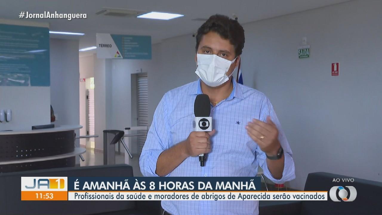 Aparecida de Goiânia recebe 7,2 mil doses da CoronaVac e começa vacinação na quarta-feira